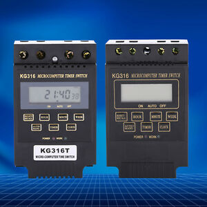 New Quality Ac 110v 220v Time Relay Switch Kg316t Digital Lcd Programmable Timer