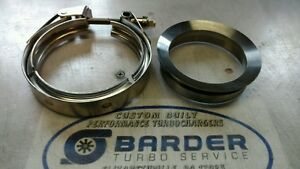 S300 Downpipe Flange And Clamp Billet Steel 3 5 Or 4 100 Usa Made