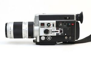 canon 1014 super 8mm movie camera near