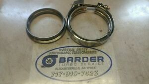 S400 T4 Downpipe Flange And Clamp 4 4 62 100 Usa Made