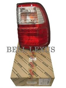 Lexus Oem Factory Passenger Rear Outer Tail Lamp Lens 1998 2005 Lx470