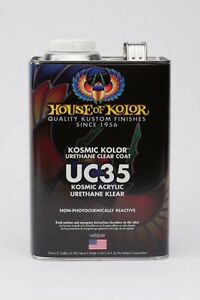 House Of Kolor Uc35 Kosmic Acrylic Urethane Klear Gallon Only Hok Uc35g