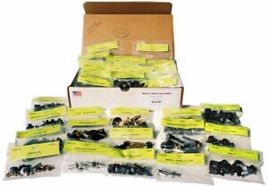 1968 Ford Bronco Master Body Bolt Kit Concurs Correct Bolts