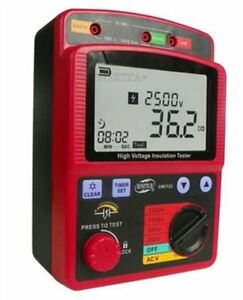 99 9g High Voltage Insulation Resistance Tester Ohm Meter Gm3123 Megger 2 5kv