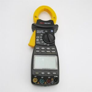 New Brand 3 Three Phase Digital Power Clamp Meter Tester 9999 Counts 20 1000h Ia