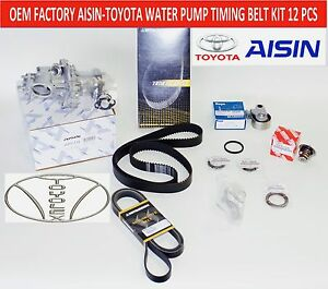New Lexus Sc300 Gs300 Complete Timing Belt Water Pump Kit All Factory Oem Parts
