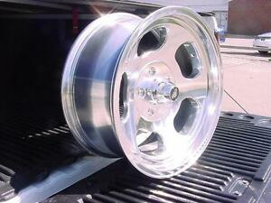 15x7 Dodge Dart Cuda Plymouth Valiant 5 On 4 Bp Ansen Vna69 American Racing