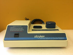 Stryker System Ii 298 102 120 V 50 60 Hz 1 1 1 2 A 2 Bay Battery Charger