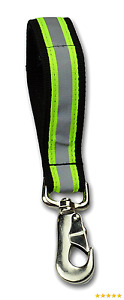 Lightning X Heavy duty Firefighter Turnout Gear Glove Strap W Reflective