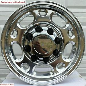 4 New 16 Wheels Rims For Chevy Silverado Express Van 2500 3500 Hd Duramax 1704