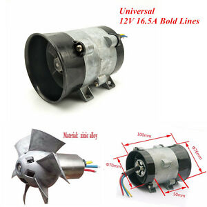Car Electric Charger Turbo Intake Fan Boost Lines 12v 16 5a With Esc40a Airplane