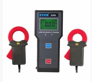 Meter Current Transformation Ratio Tester Etcr9300 Low Voltage Gy
