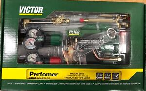 Victor 0384 2125 Performer Torch Set Edge 2 0 replaces 0384 2045 Part Number