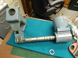 Gem Power R8 Right Angle Attachment For Bridgeport Mill With Arbor And Support