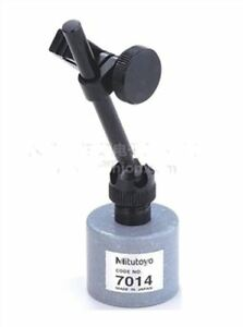 Brand New Mitutoyo 7014 Mini Magnetic Stand For Dial Test Indicators D