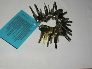 25 Heavy Equipment Key Set Jcb Case Cat Deere Ford Nh