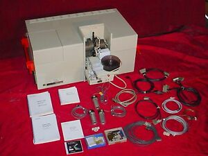 1 Perkin Elmer 4100zl Zeeman Atomic Absorption Spectrometer As 71 W software