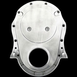 Polished Aluminum Timing Cover Fits Big Block Chevy 396 427 454 Chevrolet