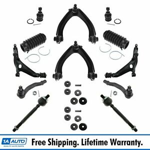 Control Arm Ball Joint Bellow Boot Tie Rod End Strut Mount Suspension Kit 14pc