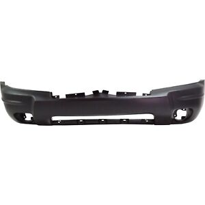 Front Bumper Cover For 2004 Jeep Grand Cherokee W Fog Lamp Holes Primed