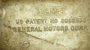 Gm Transmission Muncie 4 Speed 3851325 Case