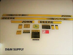 John Deere 1050 Decal Set With Caution Kit And Logo
