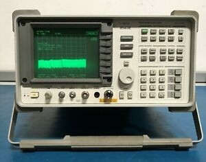 Agilent hp 8563e 9khz To 26 5ghz Opt 001 Spectrum Analyzer 85620a Memory Tested