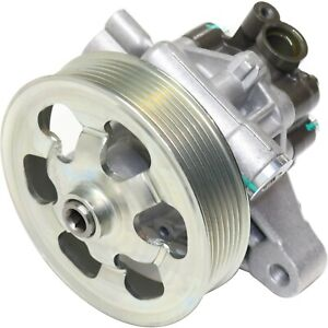 Power Steering Pump For 2008 2012 Honda Accord W Pulley