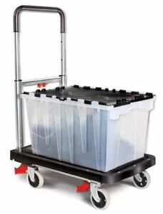 Magna Cart Flatform 300 Lb Capacity Four Wheel Folding Hand Truck