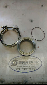 S400 Compressor Outlet Flange And Clamp 3 5 Or 4 Aluminum 100 Usa Made