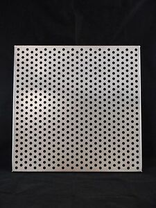 Laboratory Stainless Steel Perforated Incubator Shelf 17 7 8 X 17 7 8