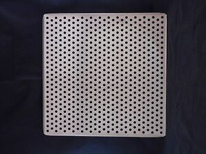 Laboratory Stainless Steel Perforated Incubator Shelf 18 1 2 X 18 1 2