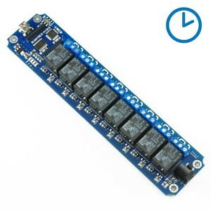 8 Channel Usb wireless 5v Timer Relay Module Support Ios And Android Tosr08 d