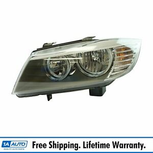 Halogen Headlight Lamp Assembly Lh Driver Side For Bmw 328i 335i Brand New