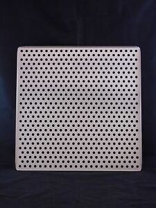 New Laboratory Stainless Steel Perforated Incubator Shelf 18 1 2 X 18 1 2