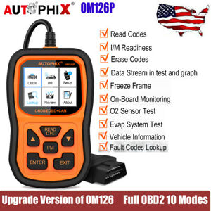 Ancel Ad410 Car Diagnostic Tool Obd2 Automotive Scanner Code Read Engine Check