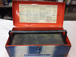 Empty Ramset Red Head Tool Box For D60 Powder Actuated Nail Gun