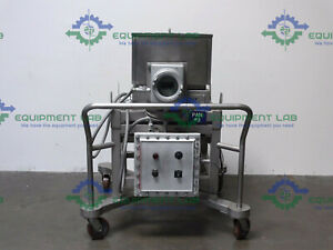 Schenck Accurate 600 Series Portable Dry Material Feeders W 30 X 1 5 Auger
