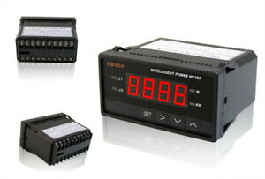 Digital Dc Boat Golf Solar Power Watt Volt Amp Meter