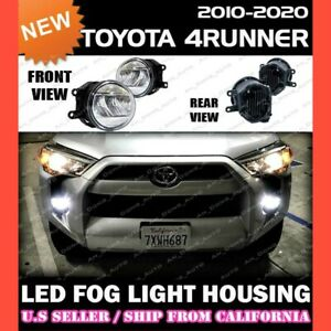 Led Fog Lights For Toyota 10 20 4runner Replacement Housing Lamp clear pair