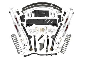 1984 01 Jeep Xj Cherokee 4wd 6 5 Rough Country Long Arm Lift Kit Np231 67222