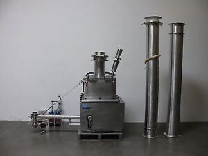 Schenck Accurate 900 Series Material Feeder W 3 Auger Extra Piping