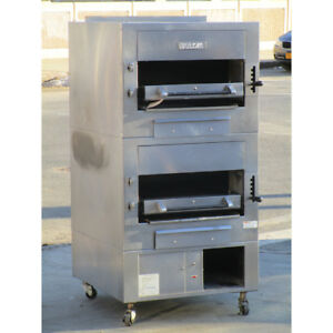 Vulcan Ir2b 500 Upright Infrared Broiler Good Condition