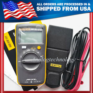 Fluke 101 Kit Palm sized Digital Multimeter Usa Seller