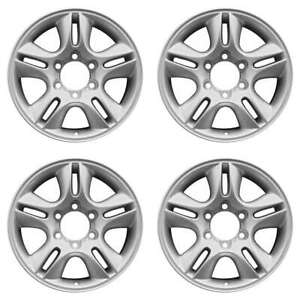 Lexus Gx470 2002 2009 17 Factory Oem Wheels Rims Set Silver