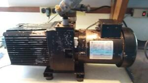 Tested To 33 Millitorr Sargent Welch Directorr 2 stage Vacuum Pump 8806a
