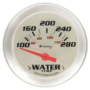 Equus 8262 2 Electric Water Temperature Gauge