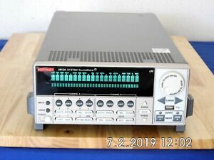 Keithley 2612a Sourcemeter 200v 10a Pulse 2 Channel Nist