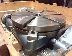 New Yuasa 550 220 20 Tilting Rotary Table