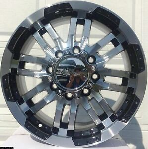 4 New 20 Warrior Wheels Rims For Dodge Ram 2500 3500 Lug Rim 104